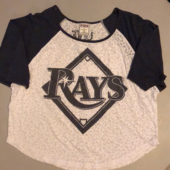 39e2e507 Victorias Secret Pink loose fit Tampa Bay Rays Top